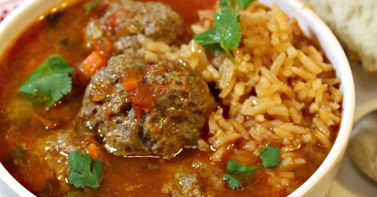 These Mexican meatballs are cooked in a tomato broth flavored with cilantro or mint. Not rocket science here, easy process with common ingredients give you an extraordinary soup as an end results that I 'm sure everyone in your family, even the little ones will love.