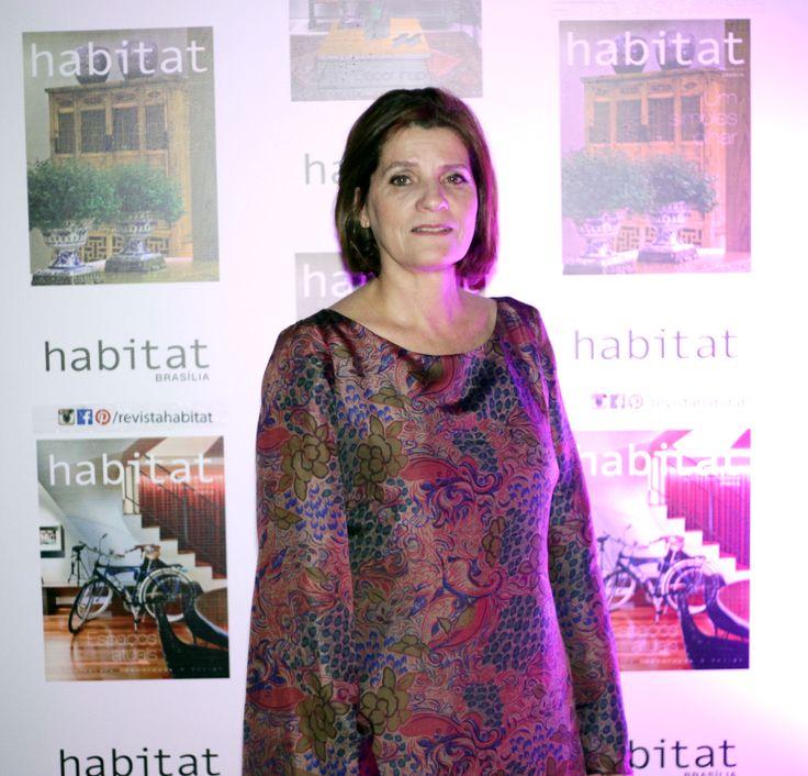 Elaine Verçosa na inauguração da Mostra Casa Viva.  #casaviva #habitatnacasaviva