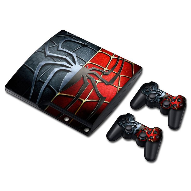 >> Click to Buy << Spiderman Vinyl Skin Sticker Protector for Sony PS3 Slim PlayStation 3 Slim and 2 controller skins Stickers #Affiliate