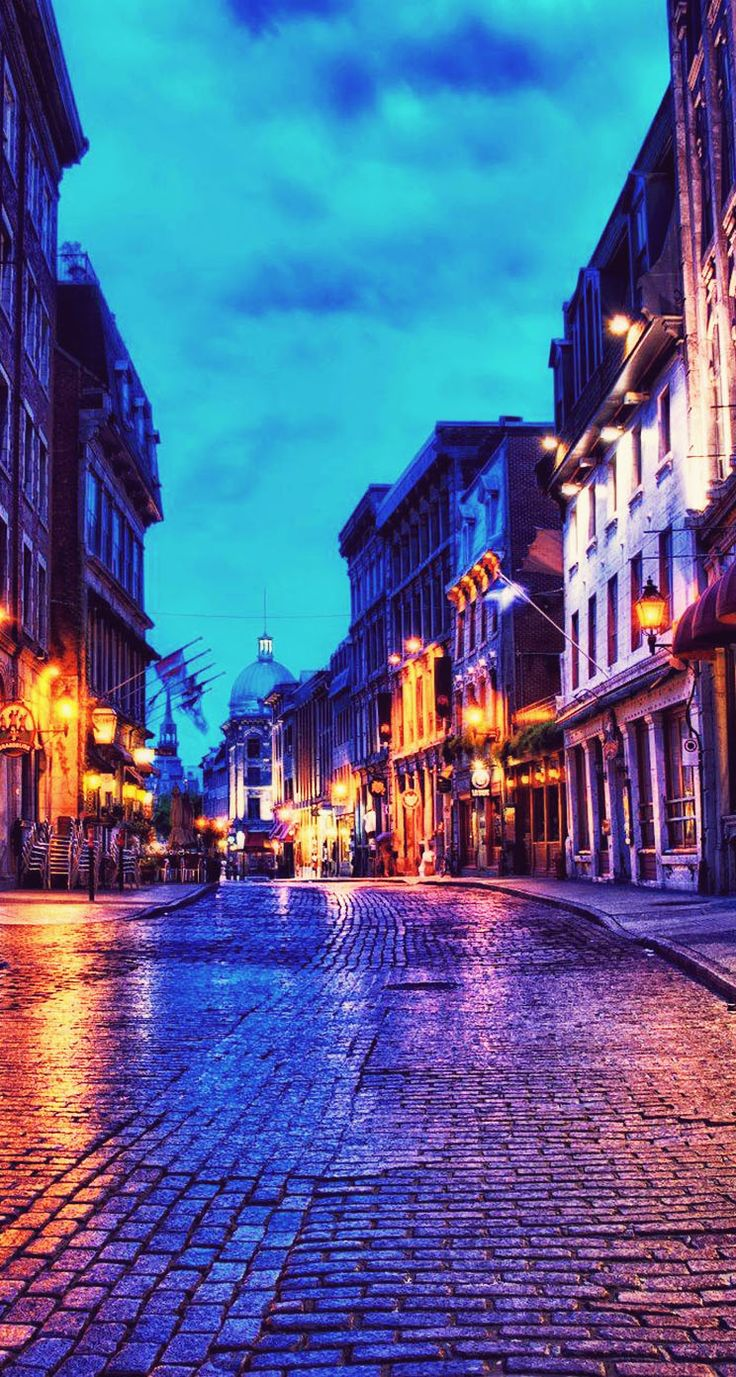 iPhone Wallpaper HD Beautiful Old Montreal Wallpaper 140
