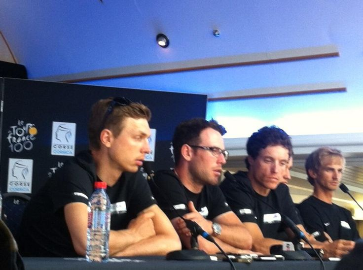 Twitter / Sky_Gernot: Tony Martin and Mark Cavendish ...