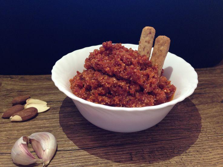 Paté de tomates secos y almendras                                                                                                                                                     Más