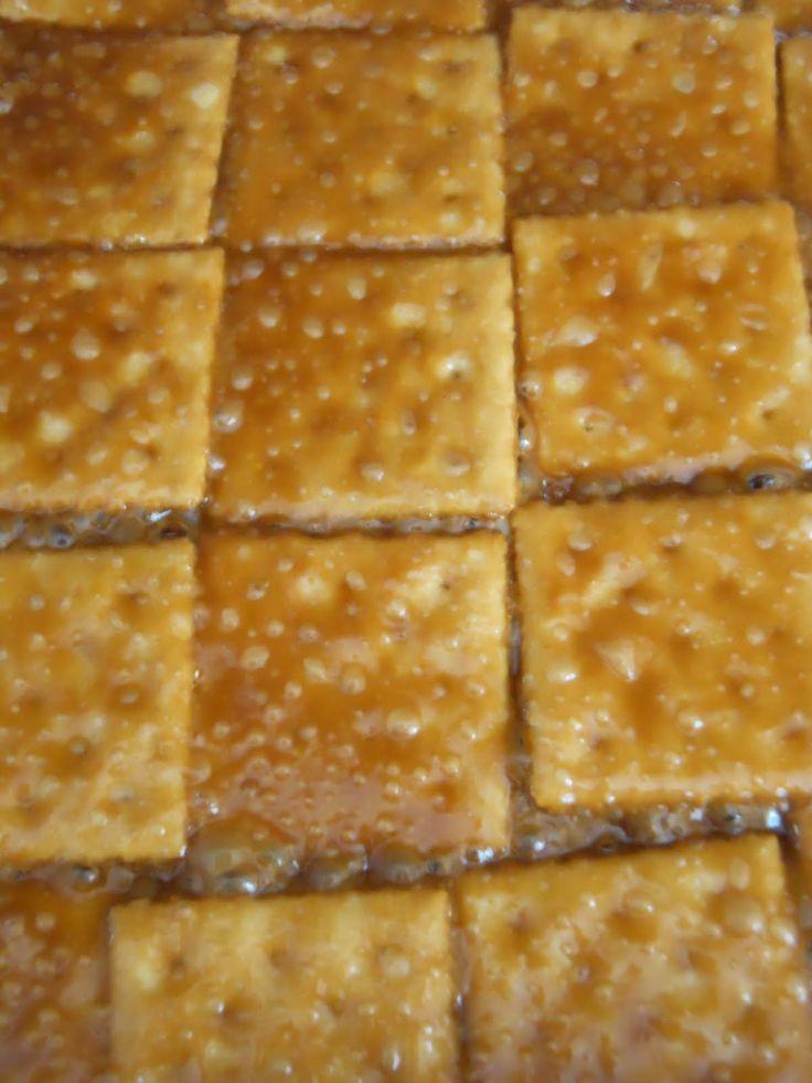 paula deen saltine cracker candy   call it cracker candy. You can call it crack candy if you like.
