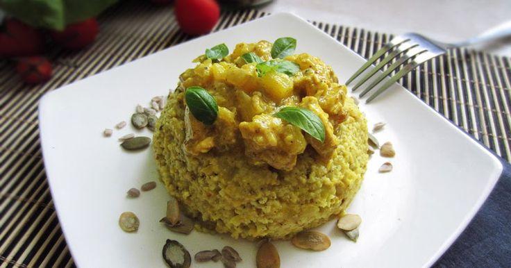 Curry kasza z kurczakiem