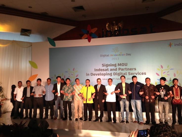 Yotomo on Digital Innovation Day 2013 by Indosat