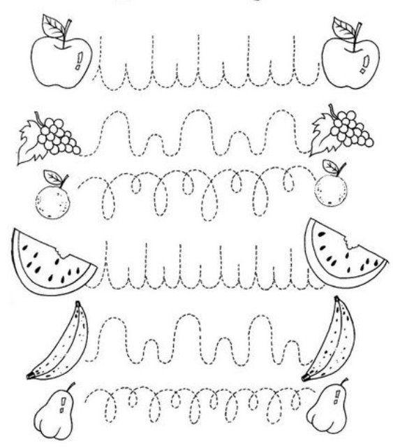 Exercer l'enfant au graphisme demande beaucoup de temps et d'astuce pour que l'enfant ne se détourne pas de cette activité, voici un exercice amusant à imprimer