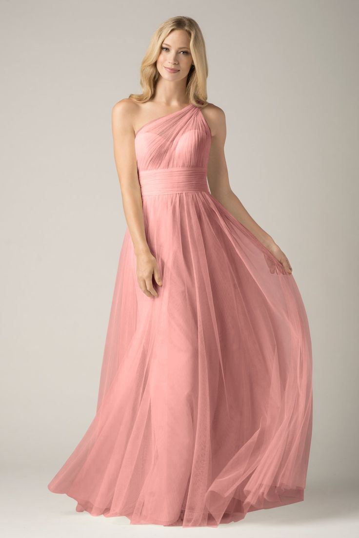 Excepcional Vestido De La Dama Watters Cresta - Colección de ...