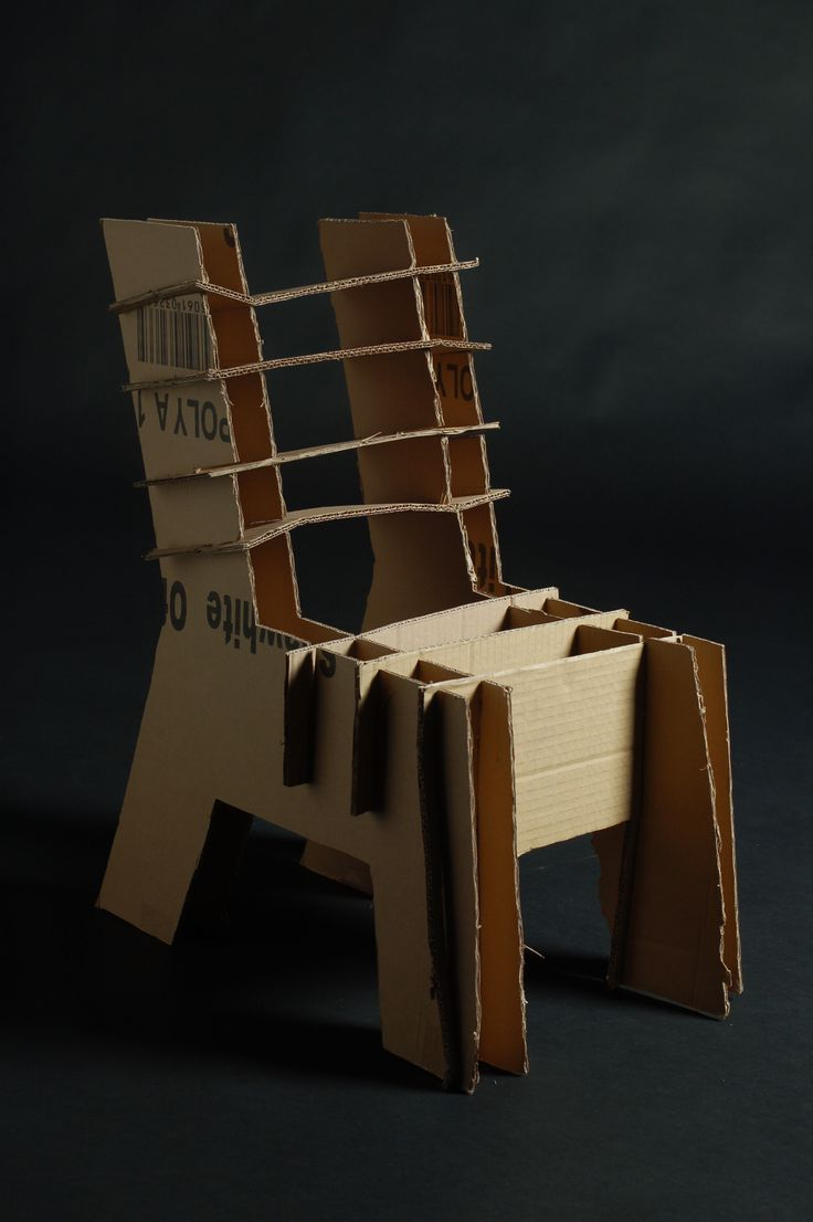 a childs chair made from 100 recyclable
