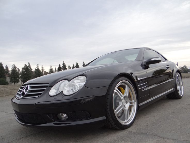 """Awesome Amazing 2005 Mercedes-Benz SL-Class Base Convertible 2-Door 2005 Mercedes-Benz SL55 AMG Roadster Convertible with upgraded 20"""" HRE Wheels SL 2017/2018"""