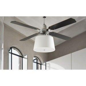 Ventilador de Techo con regulador de pared y luz - FAN 57