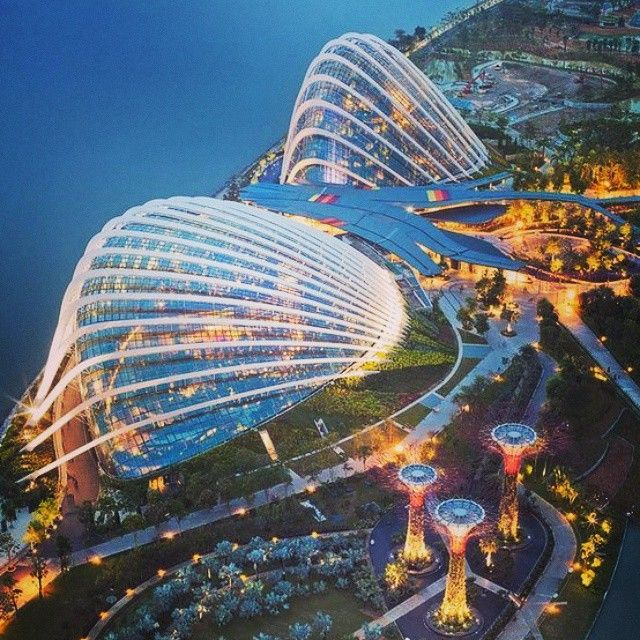 Gardens by the Bay, Singapore. Photo courtesy of globaltouring on Instagram.