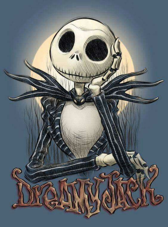 Jack. Nightmare Before Christmas.