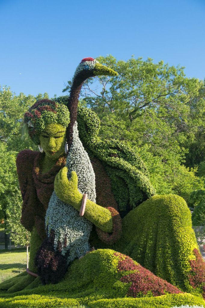 ✌✞•.♥¸¸❀giant topiary | The annual Mosaïcultures Internationales de ... | Landart, Sculpture✌✞•.♥¸¸❀