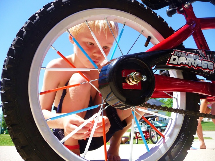 17 best images about 4th of july bike parade ideas on for Bike decorating ideas
