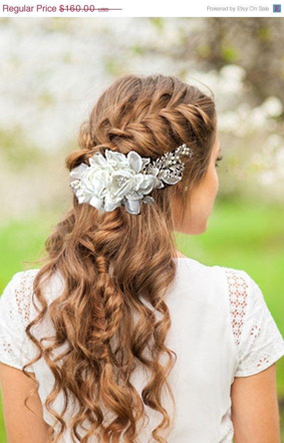 Bridal hair accessory One Of A Kind Bridal hair by GlamDuchess