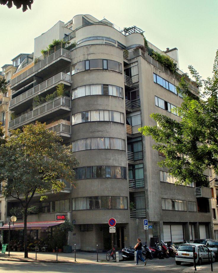 Versailles Apartments: Apartment Building, By Jean Ginsberg, 1934, Avenue De
