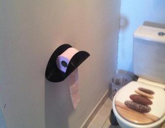 17 best ideas about papier wc on pinterest porte rouleau for Porte papier wc original