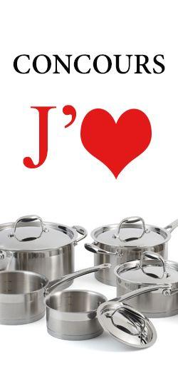 Gagnez une batterie de cuisine Lagostina. Fin le 6 novembre.  http://rienquedugratuit.ca/concours/gagnez-une-batterie-de-cuisine-lagostina/
