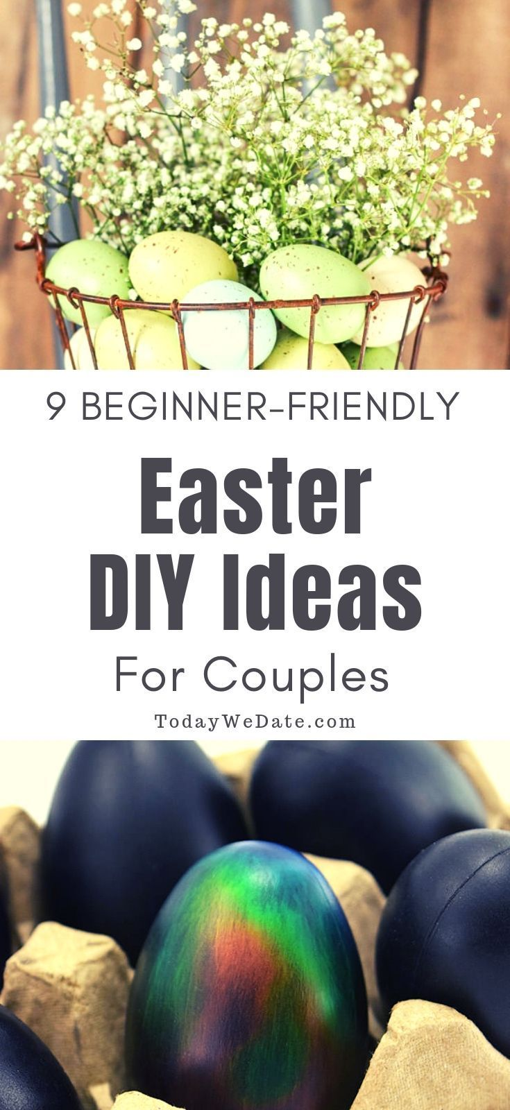 9 Easy Easter Diy Projects For Couples When Date Nights Can T