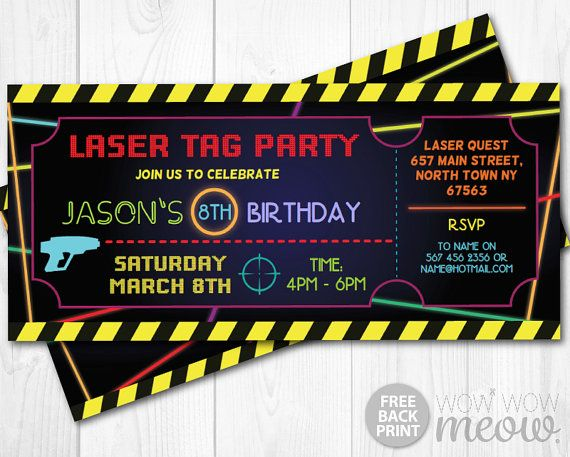 Best 25 Laser tag birthday ideas on Pinterest Laser tag party