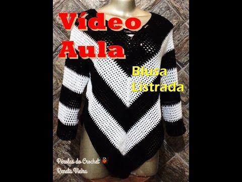 Blusa em Crochet - TAM ÚNICO - M - PARTE 1, My Crafts and DIY Projects