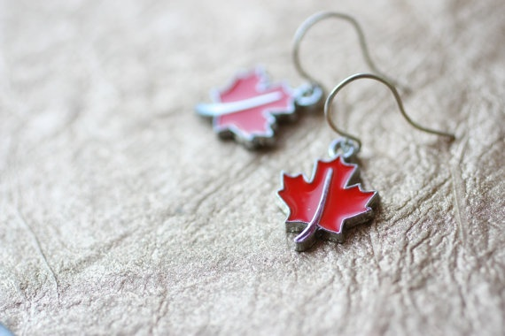 Canada O Canada earrings