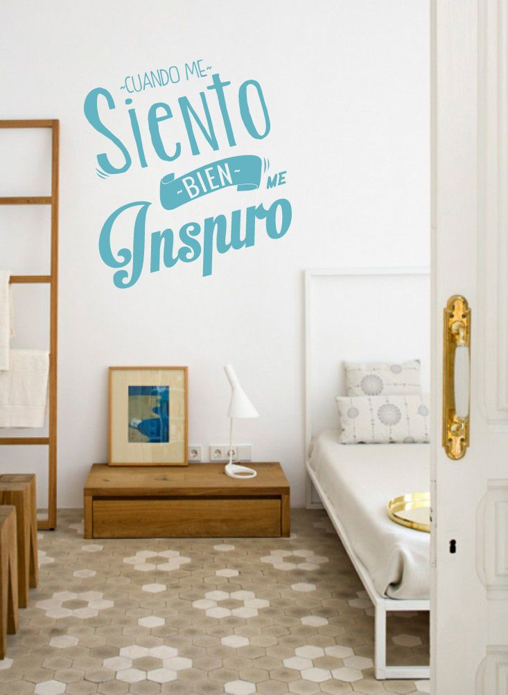 17 best images about vinilo para paredes on pinterest - Como poner fotos en la pared ...