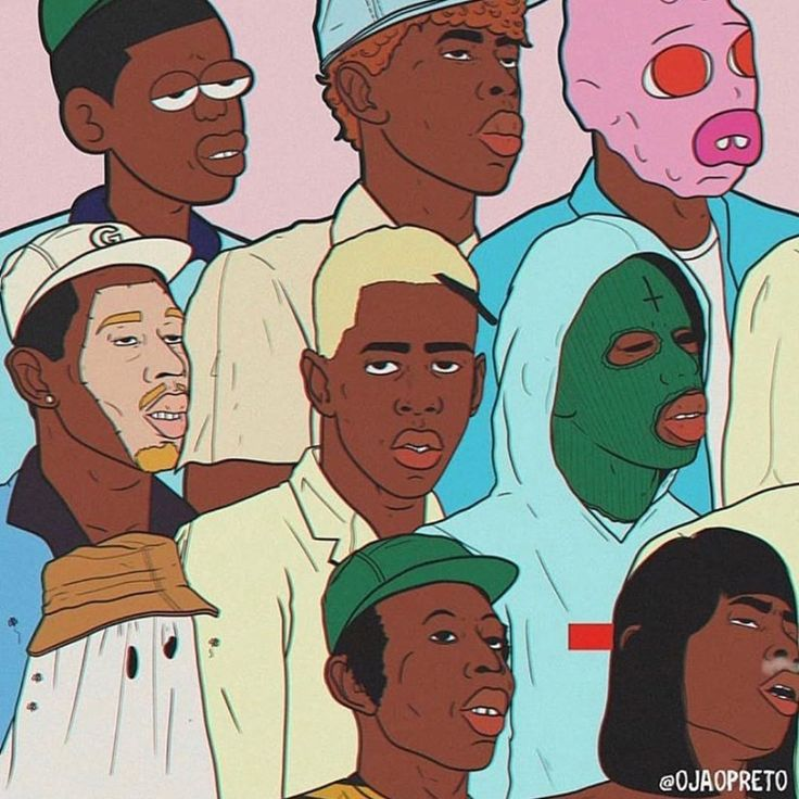 Wall Collage Pictures Aesthetic Tyler The Creator