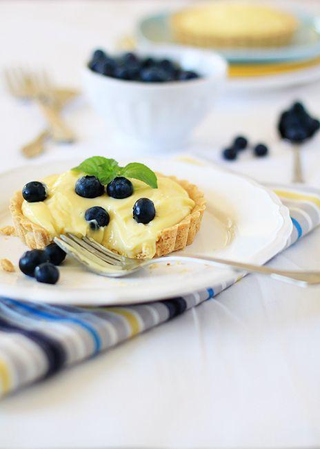 almond custard tarts | FOOD | Pinterest