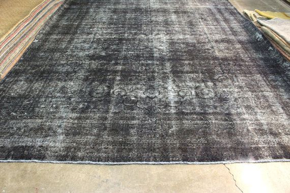 Very Rare Bohemian Vintage Turkish Rug, In really good condition.  Material : Wool on Wool  Size : 11.6 x 14.8 ft  - 349 x 445 cm   Pattern : Vintage Oriental     About this Rug:  Vintage Handwoven Turkish Rug from 1940's, Woven in Anatolia. Natural dye.  Restored, cleaned, Ready to use!    All rugs will be sent with FedEx Express shipping services. You will receive your orders in 3-4 business days. We will provide tracking number.  We offer % 100 Refund, if you don't like or have a problem…