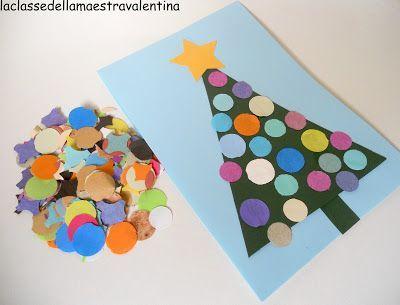 weihnachtskarte basteln mit kindern 9KyEMA27