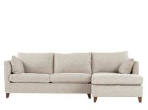 Bari Corner Storage Sofabed with Memory Foam Mattress, Right Hand Facing, Malva Linen