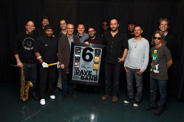 Billboard Award 6 consecutive top selling albums!!