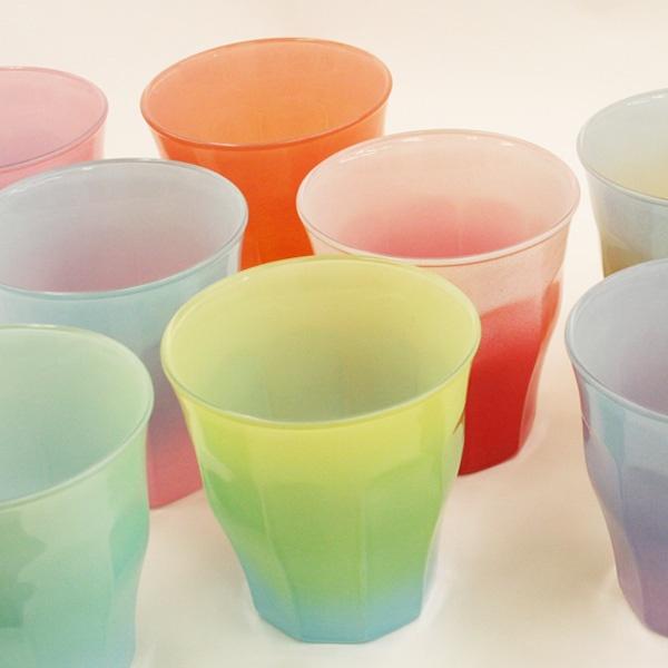 DURALEX collaborated with Ronherman gradation glass ロンハーマン×デュラレックス ピカルディ グラデーショングラス