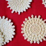 Delicate. Thin. Crispy. Wafer like. This is how I would describe this classic, authentic, Italian cookie: Pizzelle della Nonna. This recipe for pizzelle is an easy, simple, no butter recipe, that can simply be flavored with vanilla or anise.