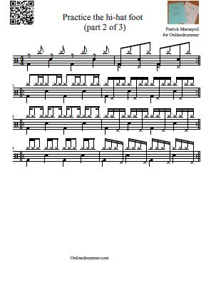 Drum Sheet Music u2013 Drum Transcriptions and Scores | OnlineDrummer ...""