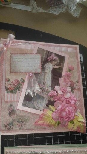 My shabby chic cards