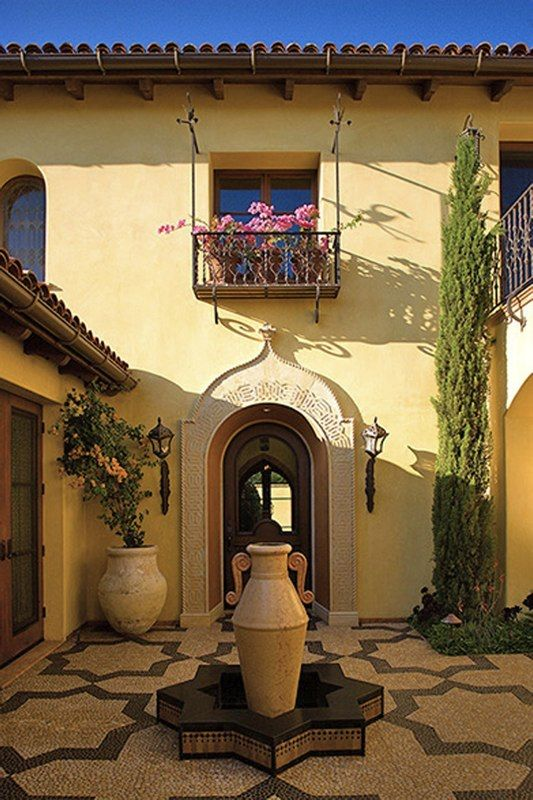 769 best images about mediterranean spanish style for Moorish homes
