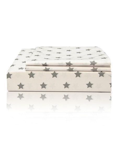 Stars Egyptian Cotton Sheet Set