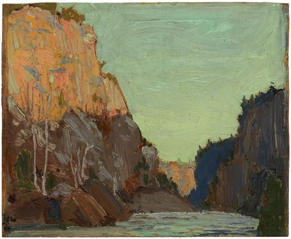 tom thomson - petawawa (1916)