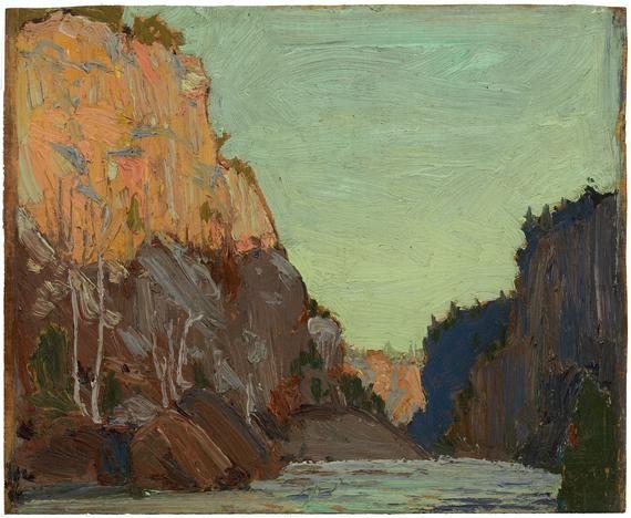 tom thomson - petawawa (1916)  (Group of Seven)