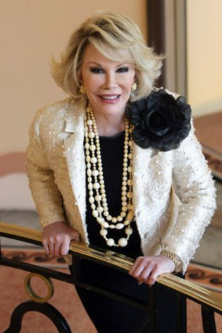 Joan Rivers was such a hilarious woman.  We will forever miss her on Fashion Police.