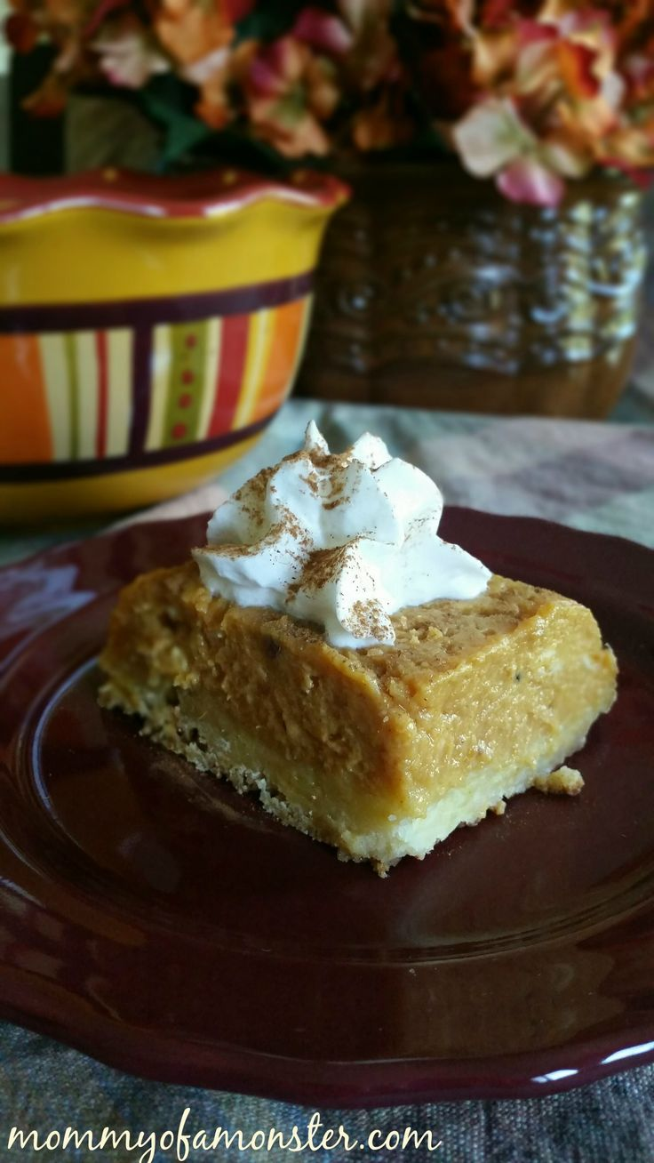 If you're looking for an easy pumpkin pie recipe, this is it. It's actually an upside down pumpkin cake and even more delicious than regular pumpkin pie. It was even featured in @ScaryMommy's Guide To Surviving the Holidays e-book!
