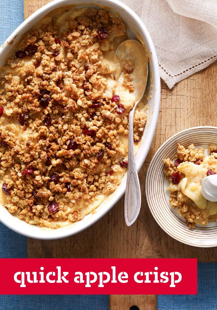 The 25+ best Quick apple crisp ideas on Pinterest | Simple ...