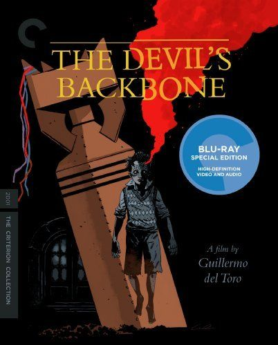 The Devil's Backbone via The Criterion Collection!  Sweet Mignola cover art!  Awesome ghost story by Guillermo Del Toro!  7/30/2013!