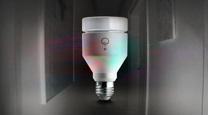 LIFX Plus: Smarte LED-Lampe mit Infrarot-Licht zur Videoüberwachung