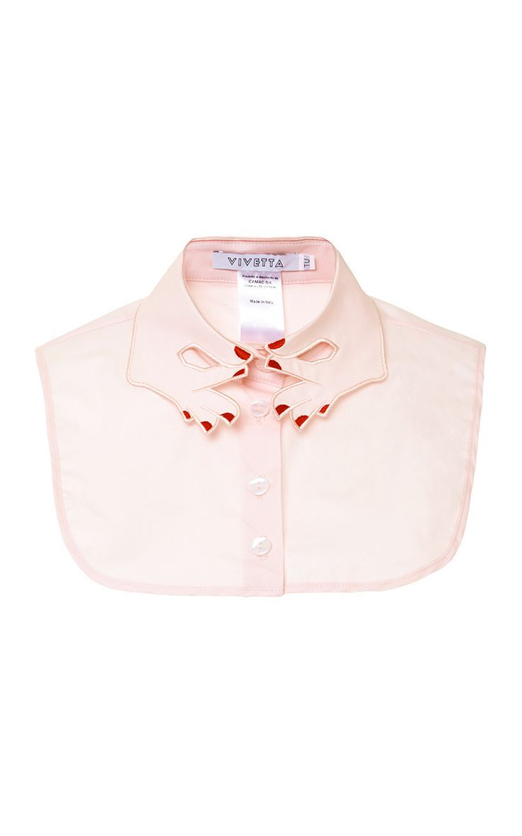 Hands Embroidered Collar by Vivetta | Moda Operandi