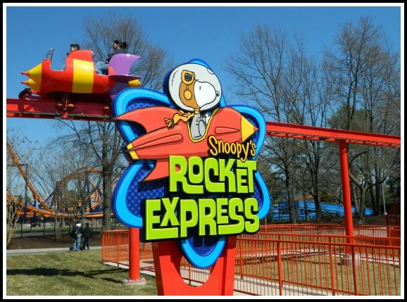 The all-new Planet Snoopy at Kings Dominion #Snoopy #KingsDominion