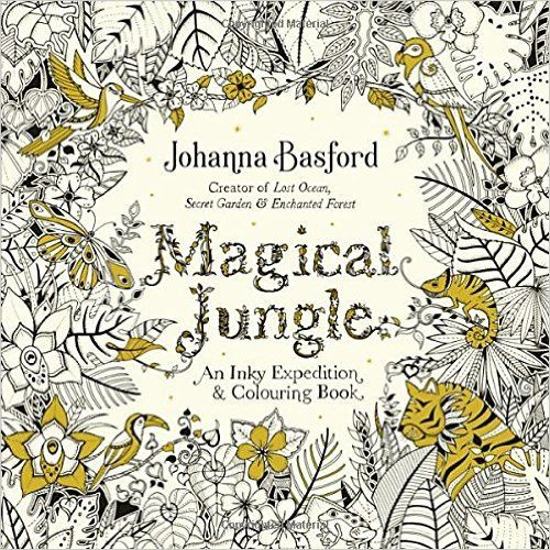 Magical Jungle An Inky Expedition Colouring Book Books Amazonde
