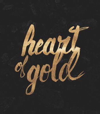 Arte HEART OF GOLD de Koning!! Disponível em camiseta, poster, caneca e case de…